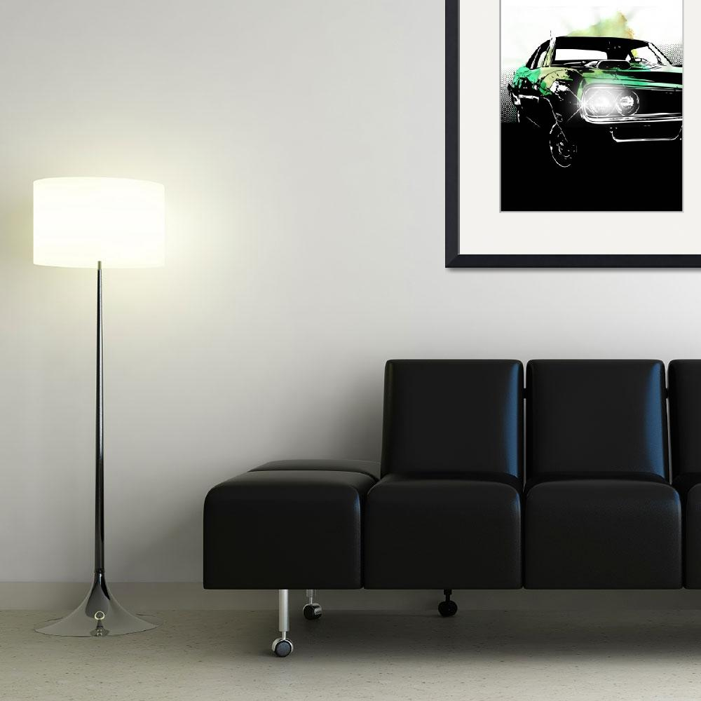"""""""Carflash I&quot  (2010) by claus-peter"""