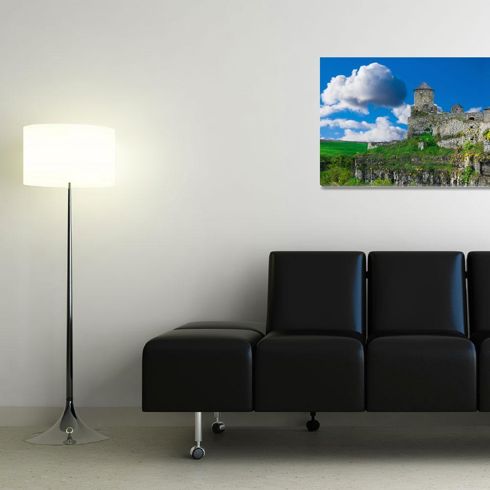 """""""Old beautiful castle""""  (2011) by Kybdica"""