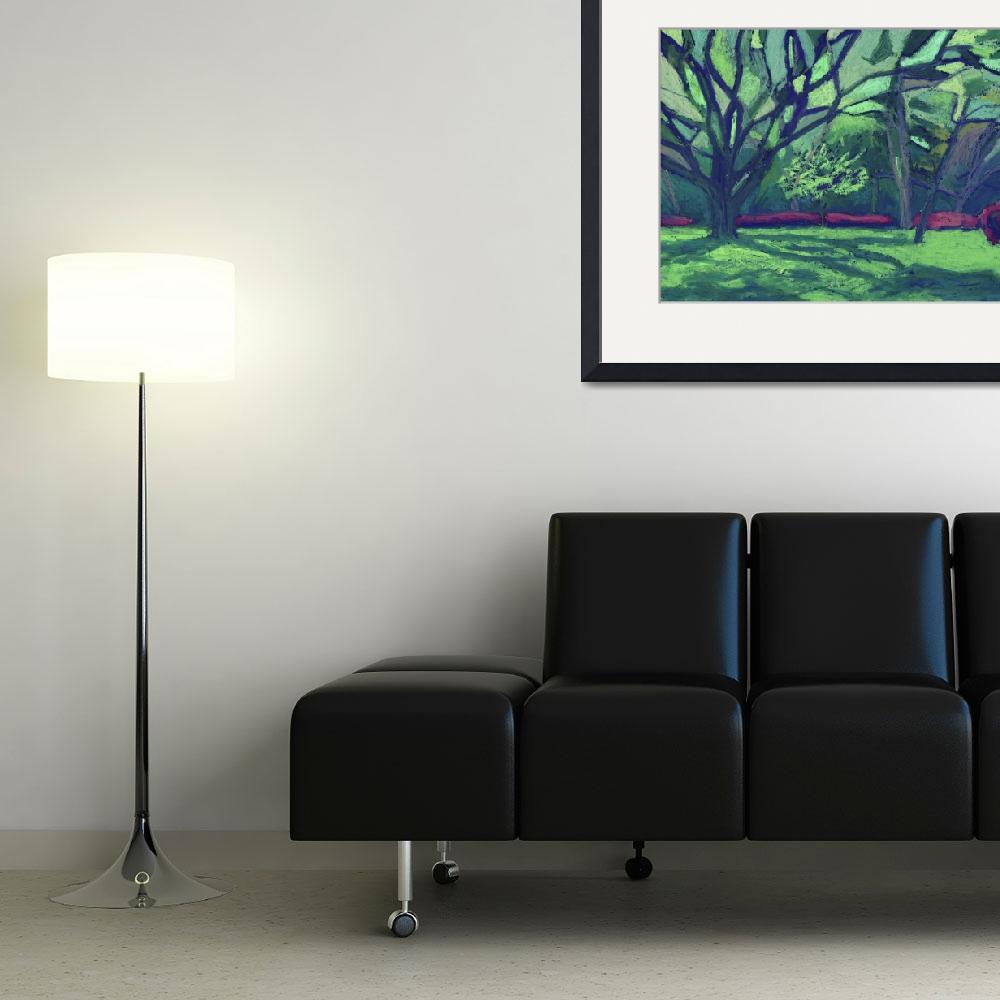 """""""composition in green&quot  (2010) by melander"""
