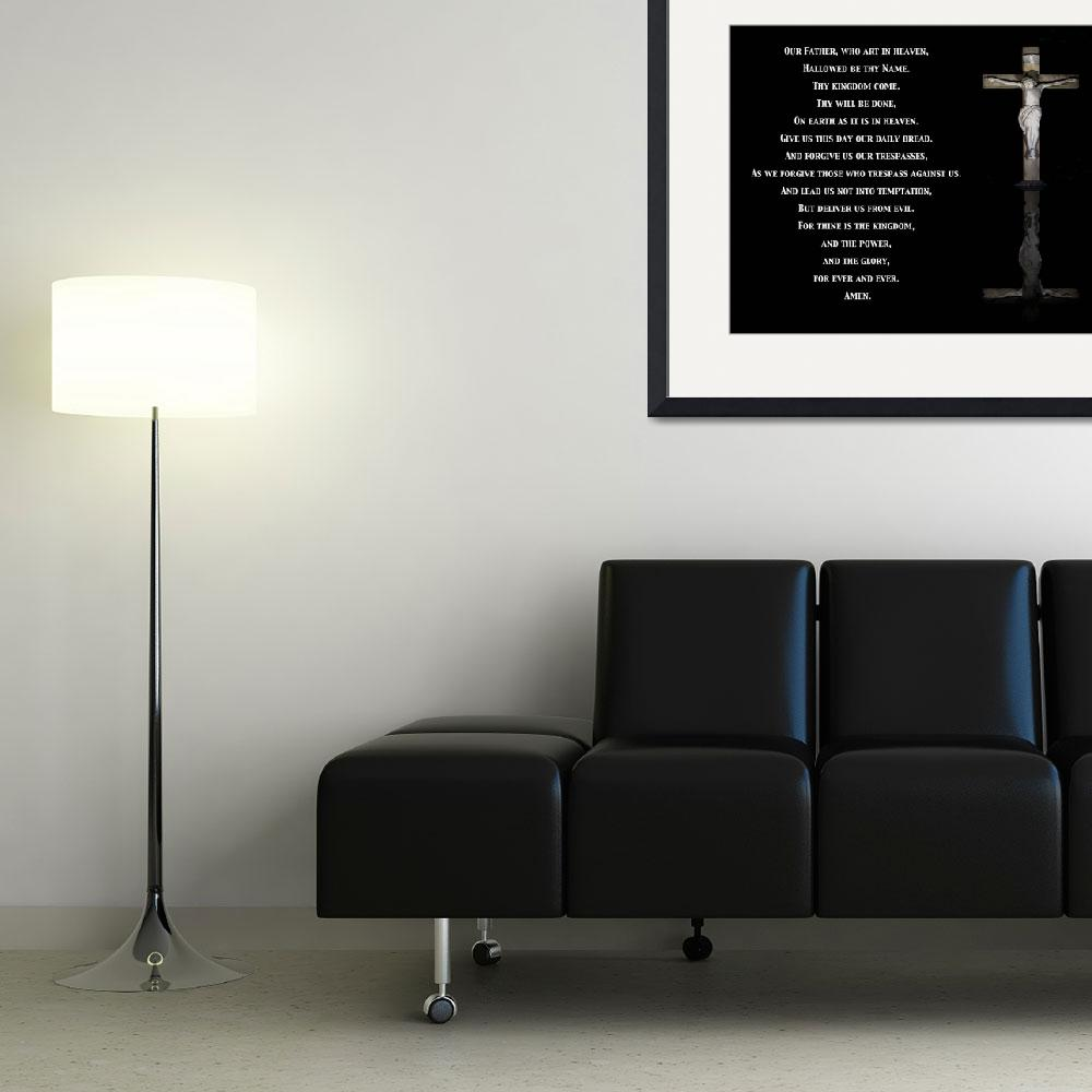 """""""lords prayer (right)""""  (2009) by 2-mello"""