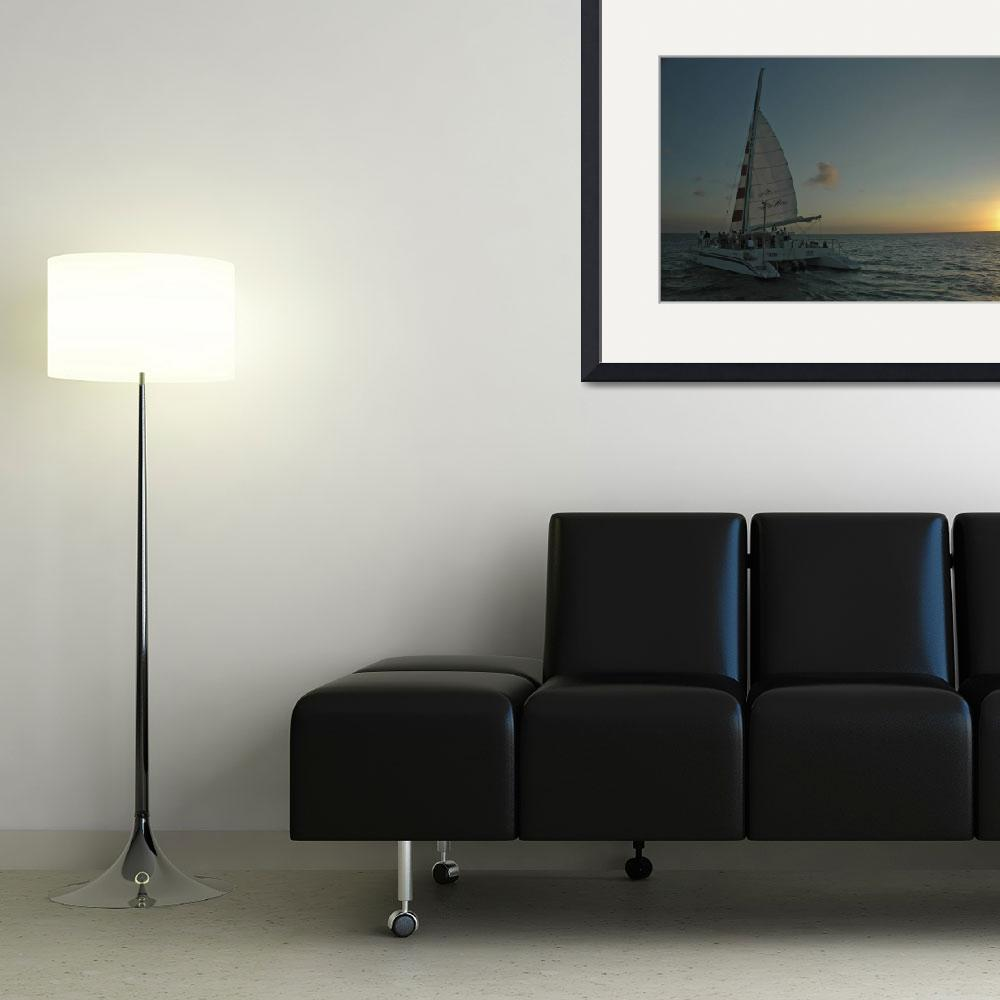 """""""Sunset Sail&quot  (2005) by PaulCoco"""