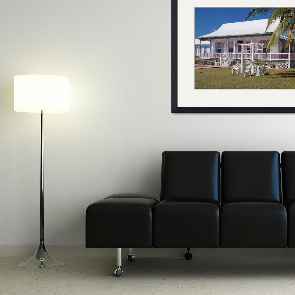 """""""Cayman Islands Traditional Home&quot  (2011) by JBrooker"""