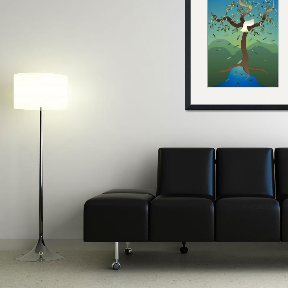 """""""Peace Tree of Life&quot  (2007) by izann"""
