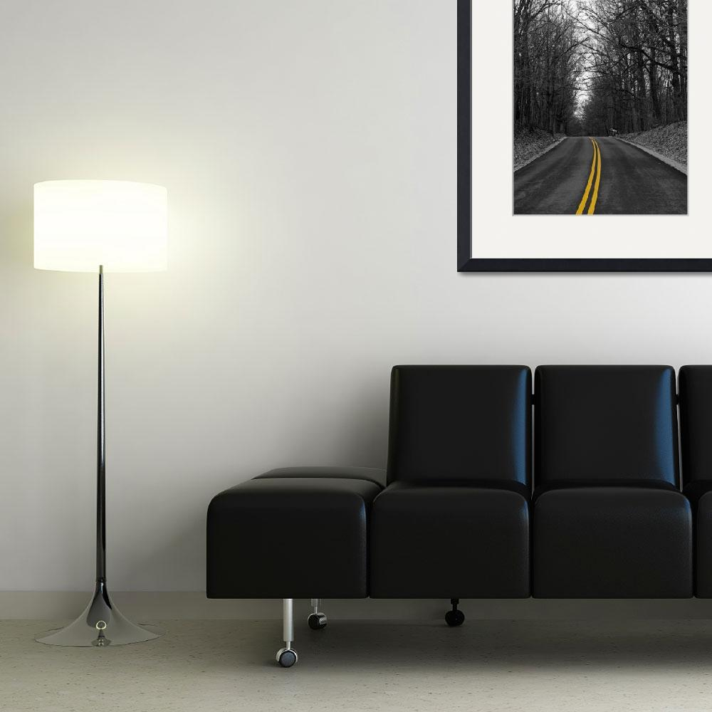 """""""Yellow Road&quot  (2008) by LeStro"""