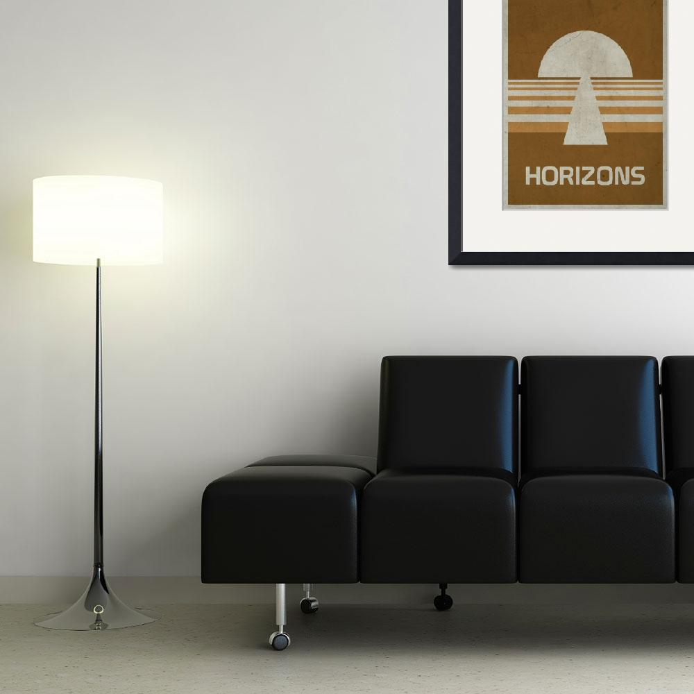 """""""Horizons&quot  (2010) by scbb11Sketch"""
