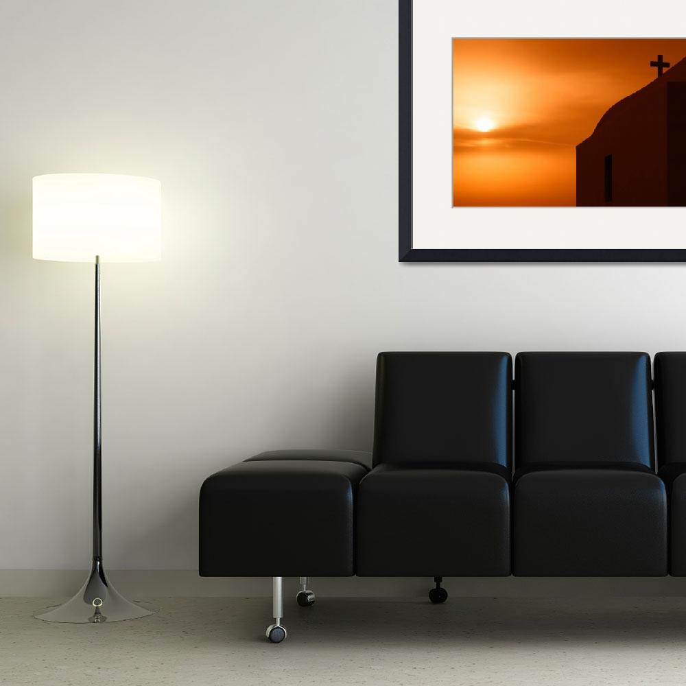 """""""Cycladic sunset&quot  (2010) by AlexanderVoss"""