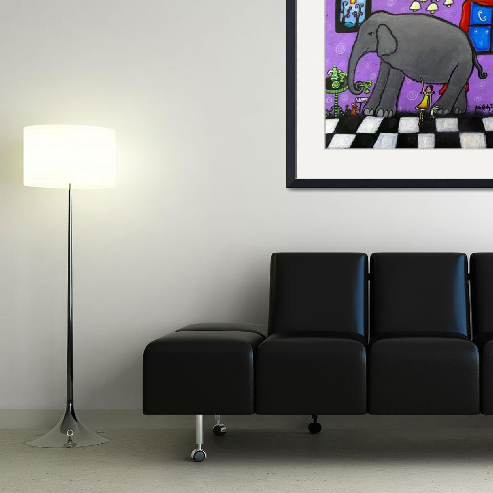 """""""The Elephant In The Room&quot  (2014) by juliryan"""