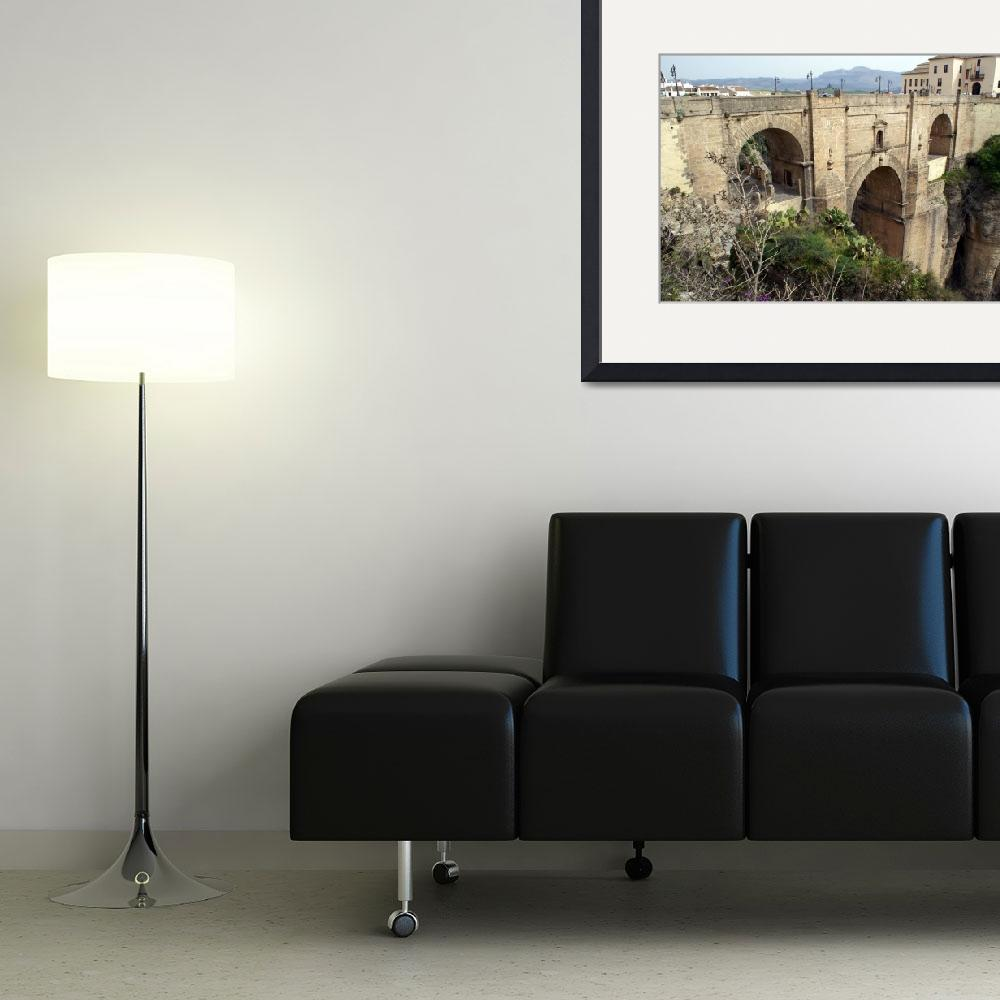 """Ronda. Roman Bridge""  (2008) by ibsmith66"