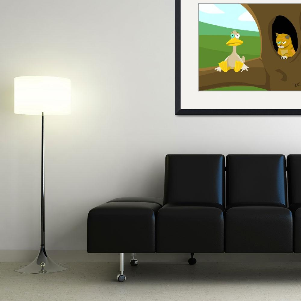 """""""Sitting Duck&quot  (2013) by StudioFreriks"""