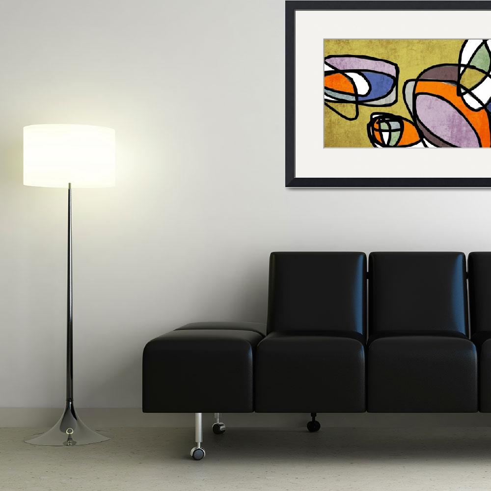 """""""ORL-6858 Vibrant Colorful Abstract-0-31&quot  by Aneri"""
