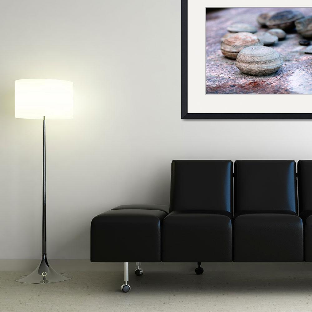 """""""Ancient Slave River concretions&quot  (2011) by HYD"""