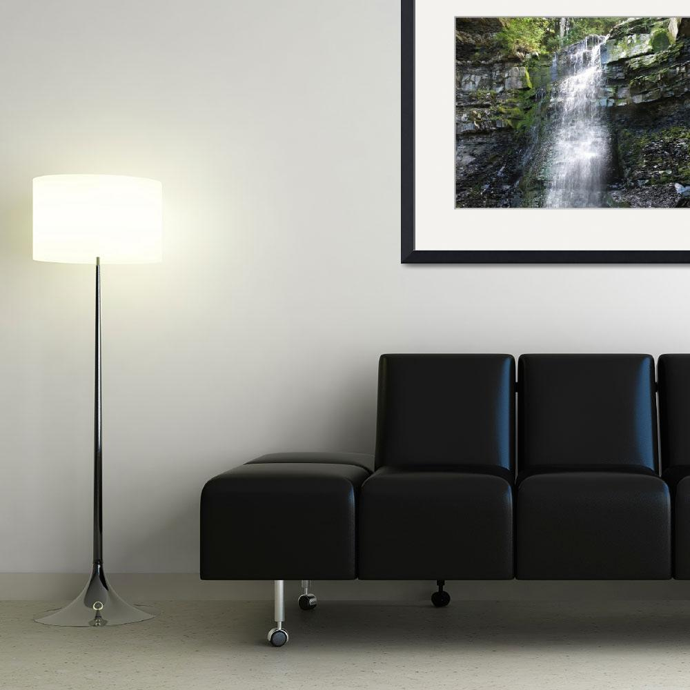 """""""Waterfall V""""  (2008) by ajkartworks"""