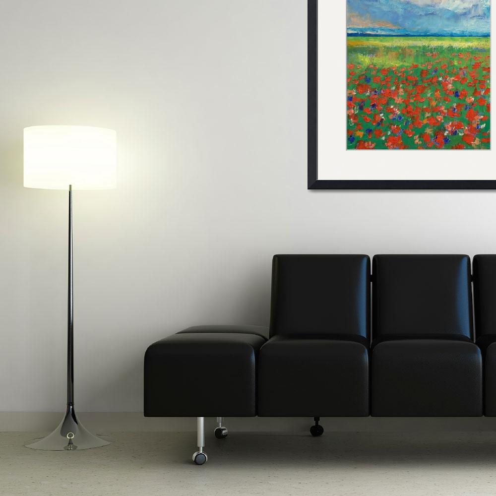 """""""Poppy Field&quot  by creese"""