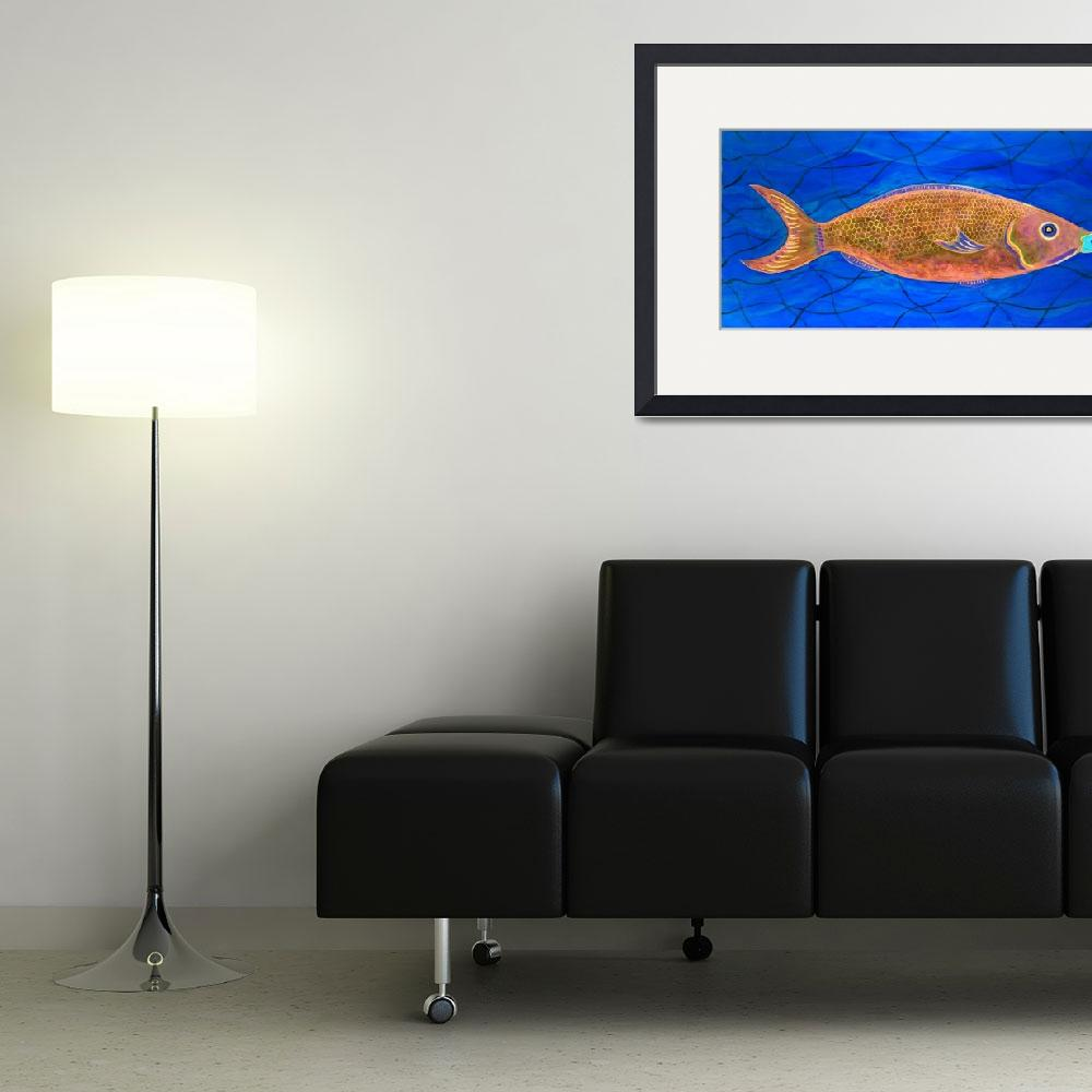 """PARROT FISH- AT NIGHT&quot  (2014) by mrmizener"