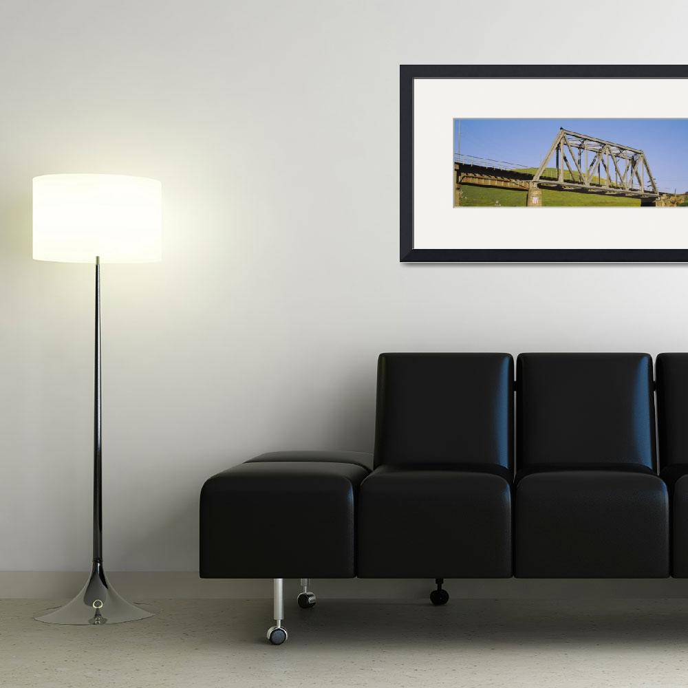 """""""Low angle view of a railway bridge&quot  by Panoramic_Images"""