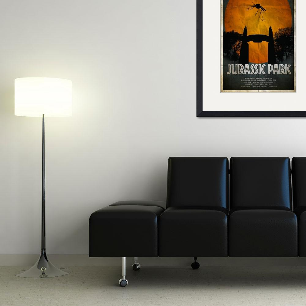"""""""Jurassic Park&quot  (2013) by RyanBlackDesigns"""