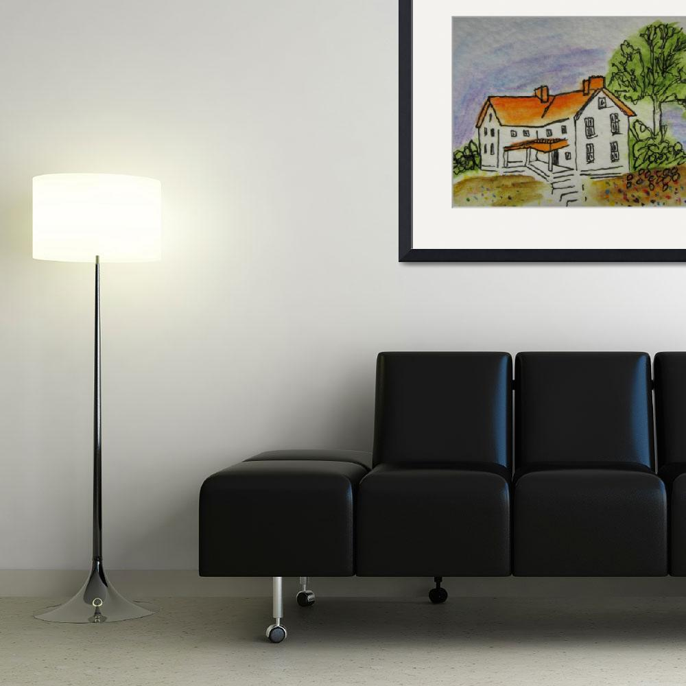 """""""house&quot  by abstractartstudio"""