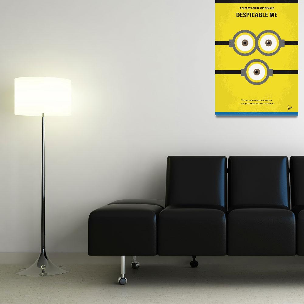 """""""No213 My Despicable me minimal movie poster""""  by Chungkong"""
