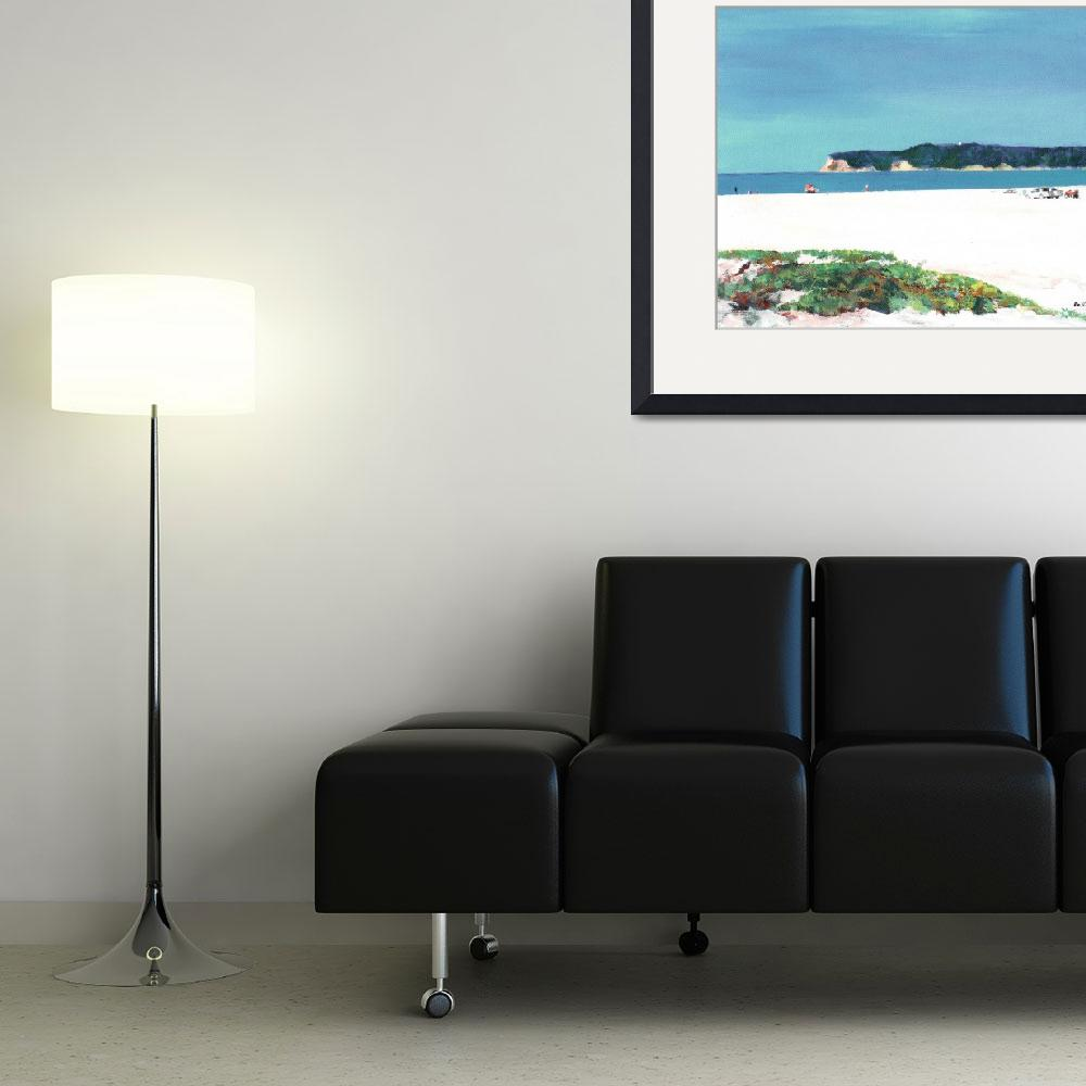 """""""View of Point Loma San Diego by Riccoboni&quot  (2010) by RDRiccoboni"""