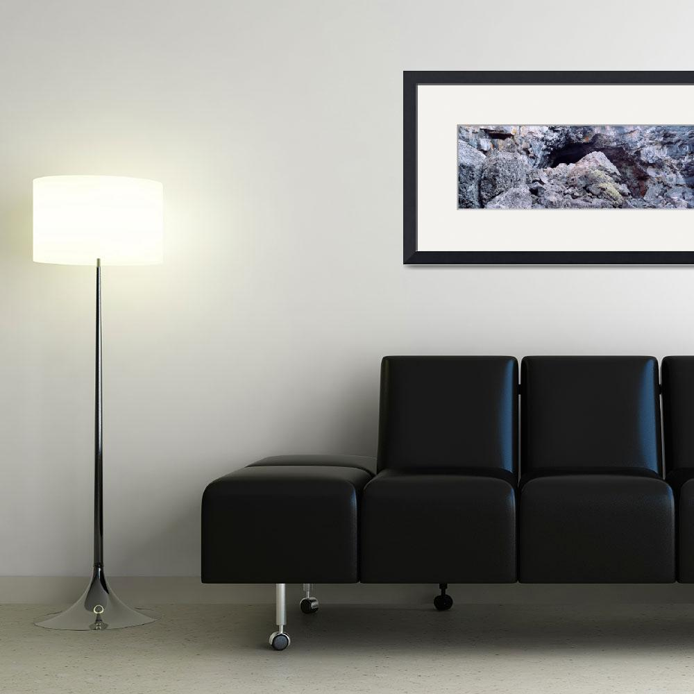 """""""Close-up of the entrance of a cave&quot  by Panoramic_Images"""