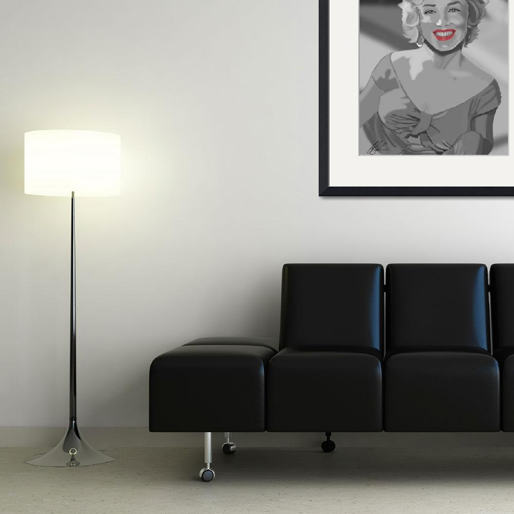 """""""Marilyn Monroe&quot  (2012) by UKLady2"""