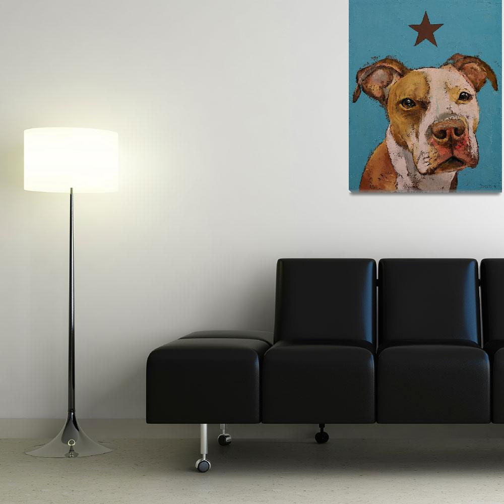 """American Pit Bull&quot  by creese"