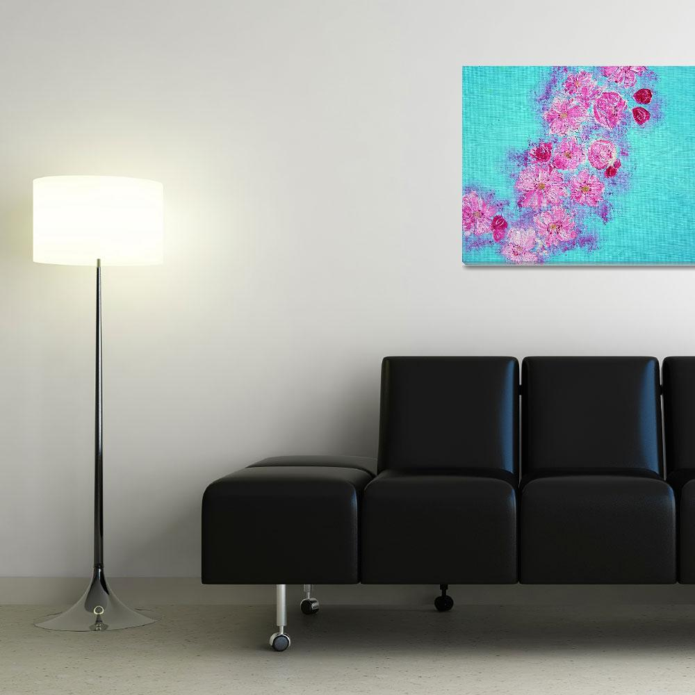 """""""Cherry Blossoms&quot  (2009) by alwhitney"""
