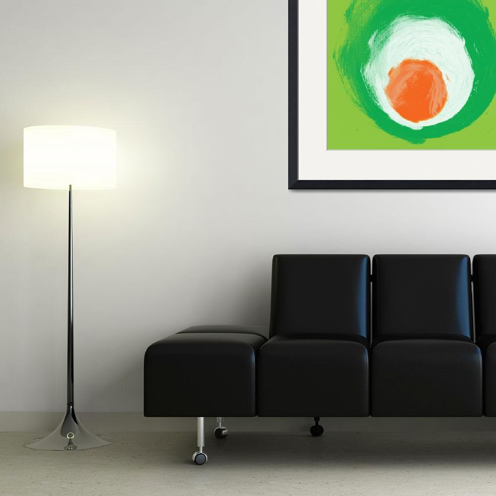 """""""ORL-827 green white orange elements&quot  by Aneri"""