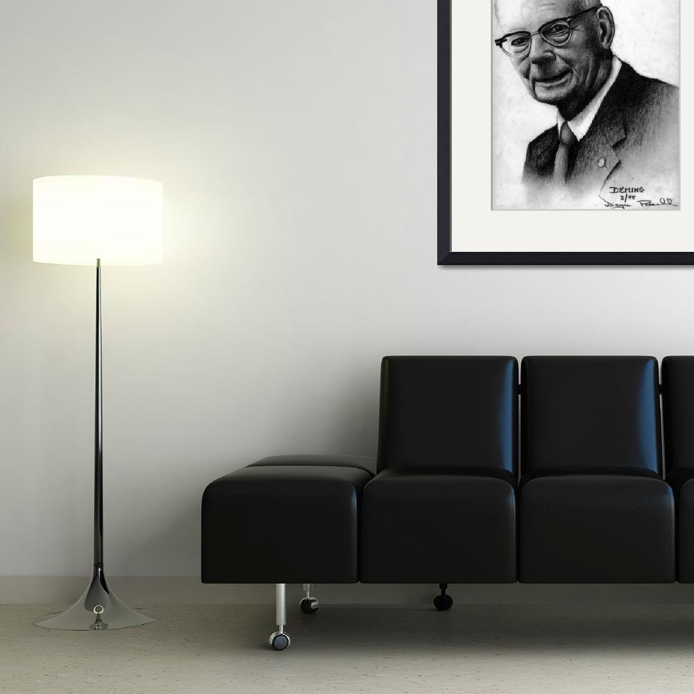 """""""Deming&quot  (1995) by waynepascall"""