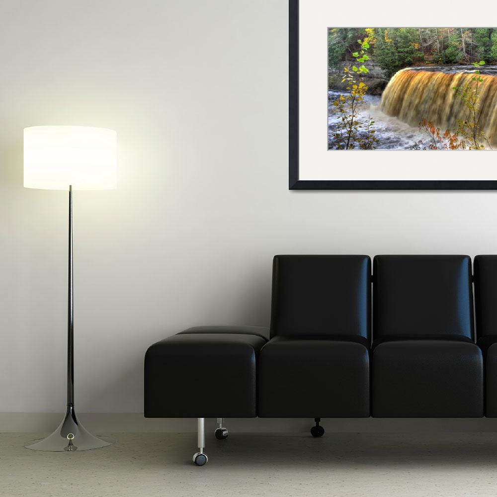 """Tahquamenon Falls HDR&quot  by ebgraphics"