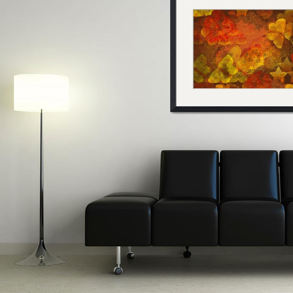 """""""Butterfly Abstract&quot  (2012) by dehner"""