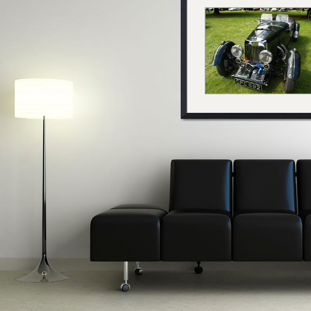 """""""Aston Martin British Vintage Classic&quot  by imagetaker"""