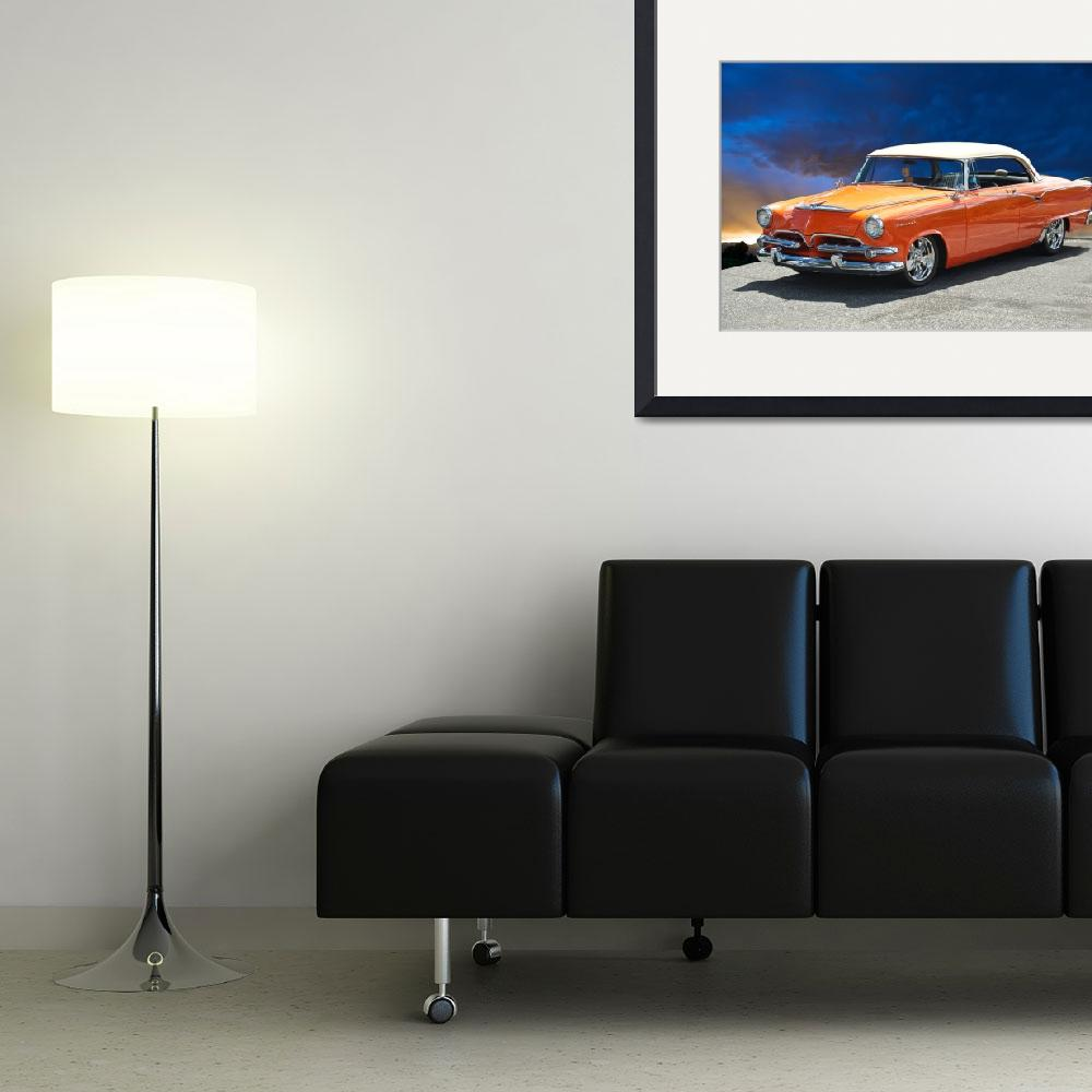 """""""1955 Dodge Coronet&quot  by FatKatPhotography"""