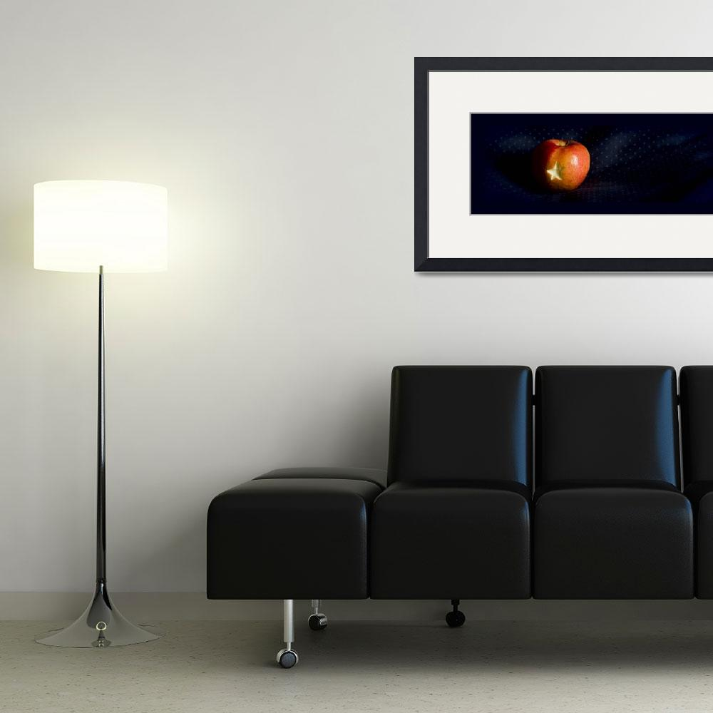 """""""Apple Star""""  (2011) by Philibe"""