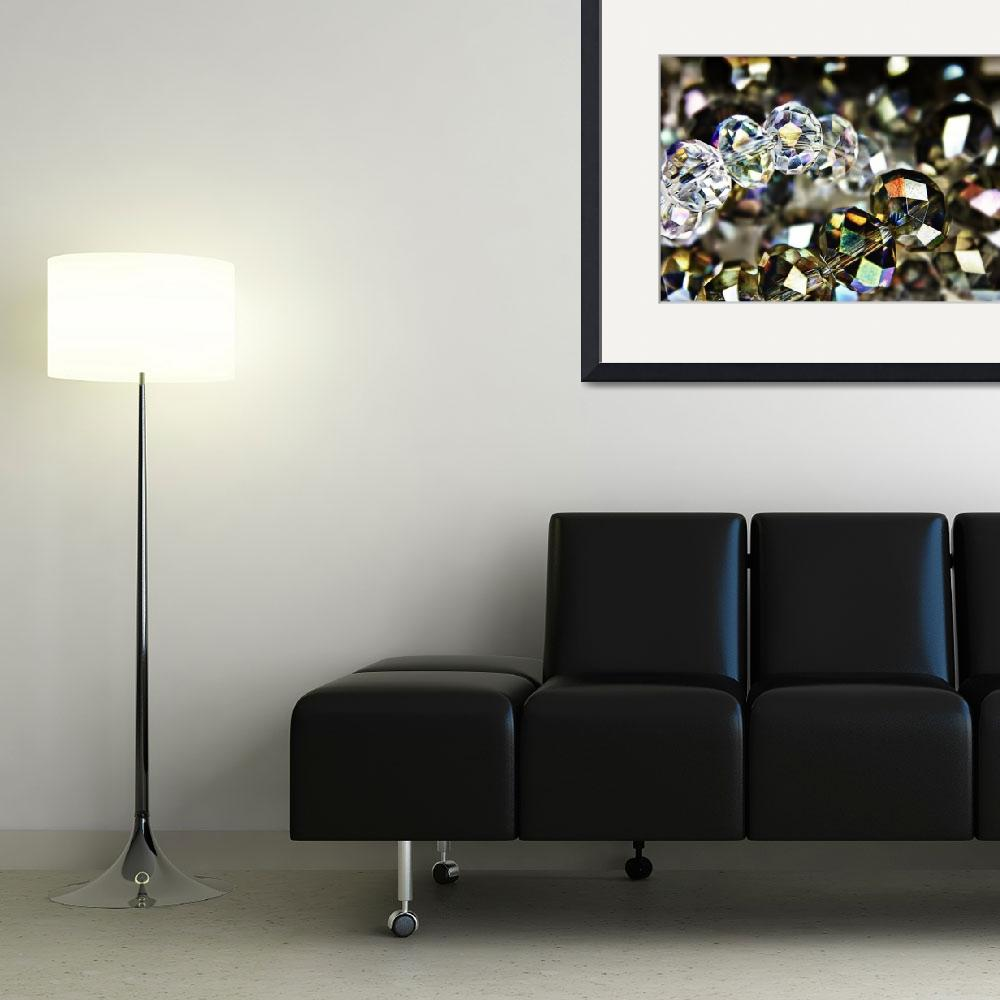 """""""Sparkling Beads""""  (2011) by InspiraImage"""