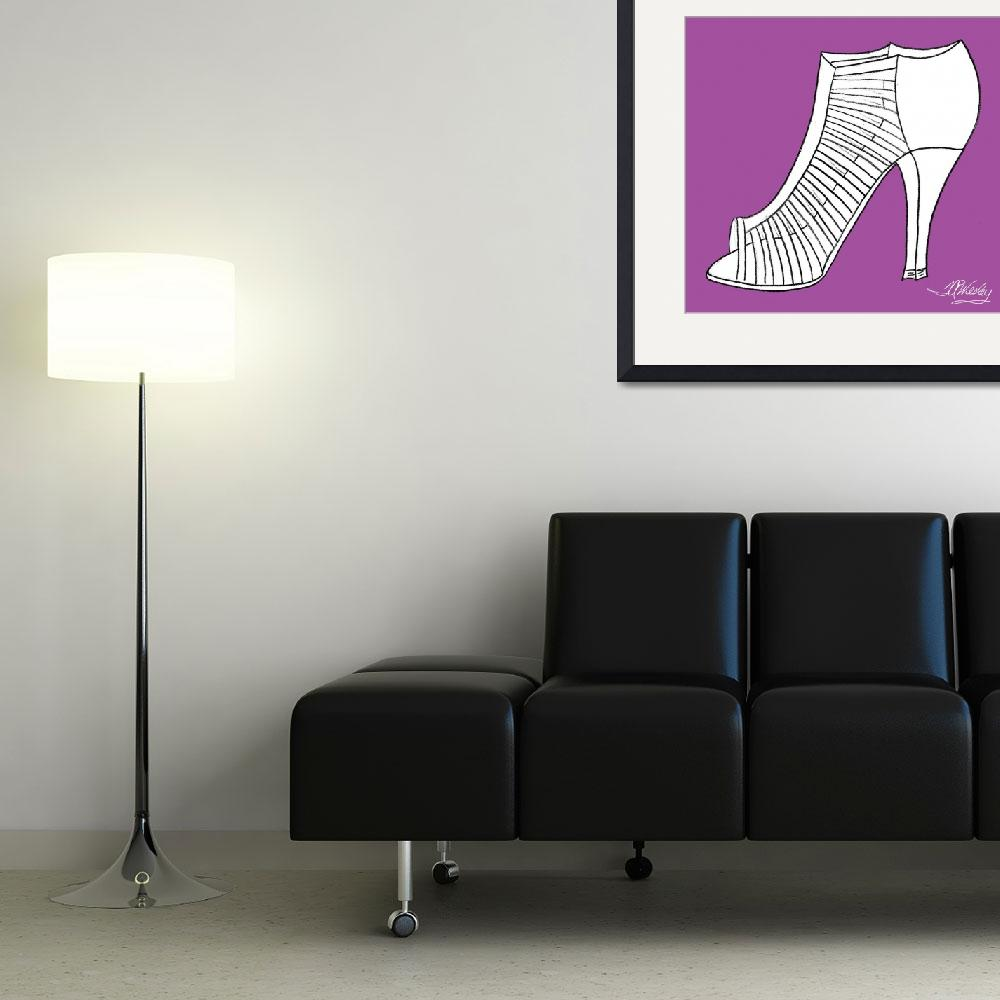 """Elegance Shoe""  (2010) by misstandesigns"