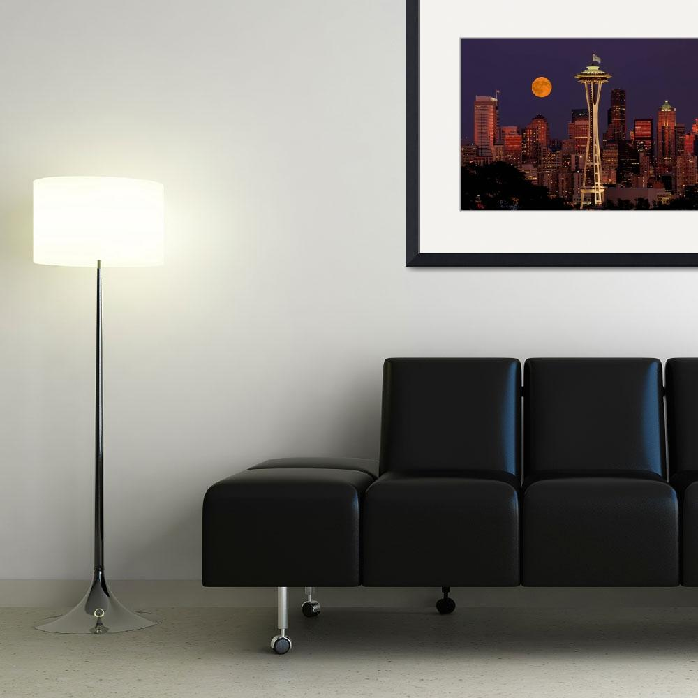 """""""Moon rise&quot  (2008) by frankacaba"""