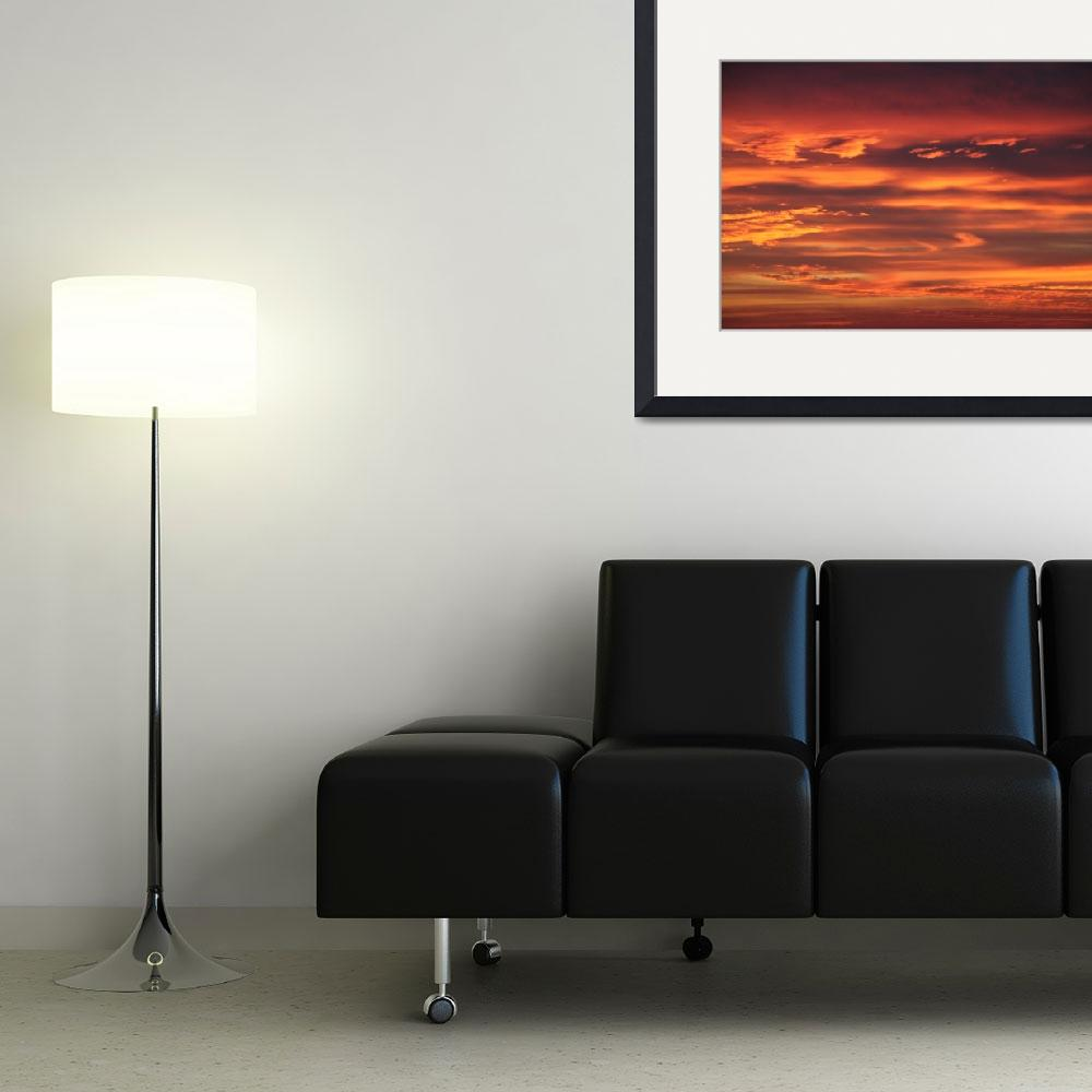"""""""Sunset Clouds 4&quot  (2010) by BMRamos"""