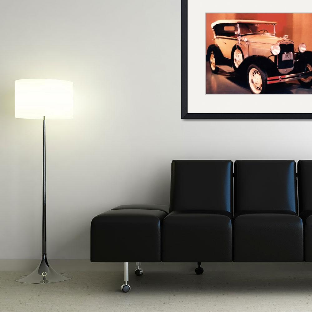 """""""1931 FORD MODEL A PHAETON&quot  (2009) by shaynaphotography"""