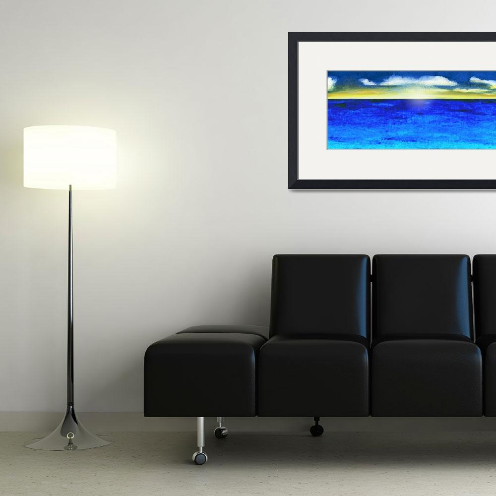 """Sunrise Seascape C6""  (2015) by Ricardos"