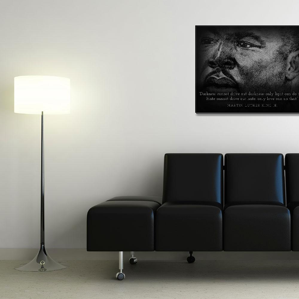 """Inspirational Portrait - Martin Luther King Jr.""  (2012) by CreativeArtisticNuance"