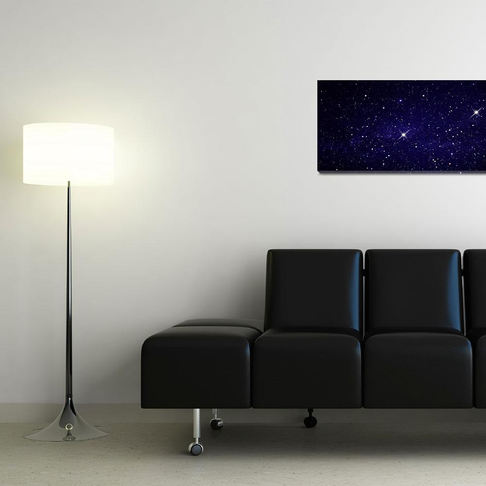 """Field of Stars (Photo Illustration)""  by Panoramic_Images"