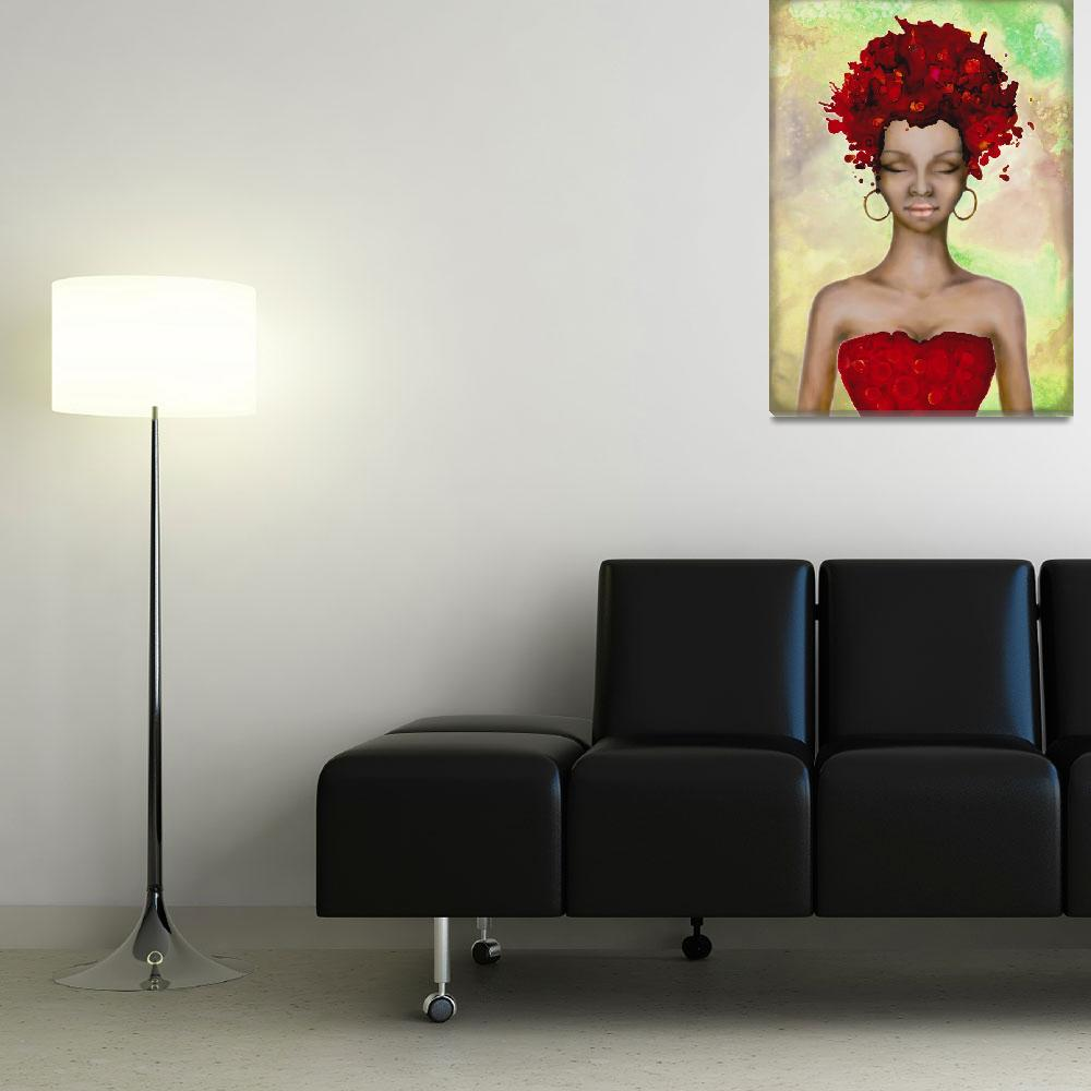 """""""Crazy Red hair Morning&quot  by Art_by_Lilia"""