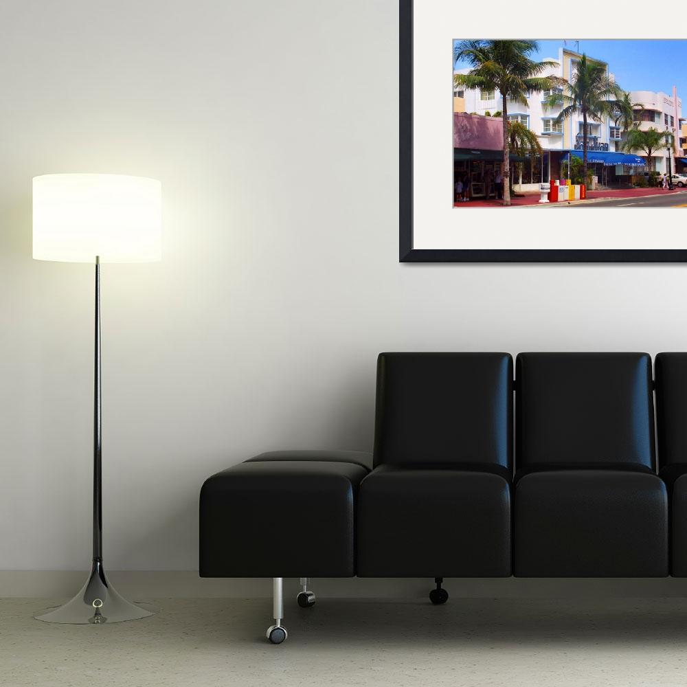 """""""Miami Beach - Art Deco 2003&quot  (2003) by Ffooter"""