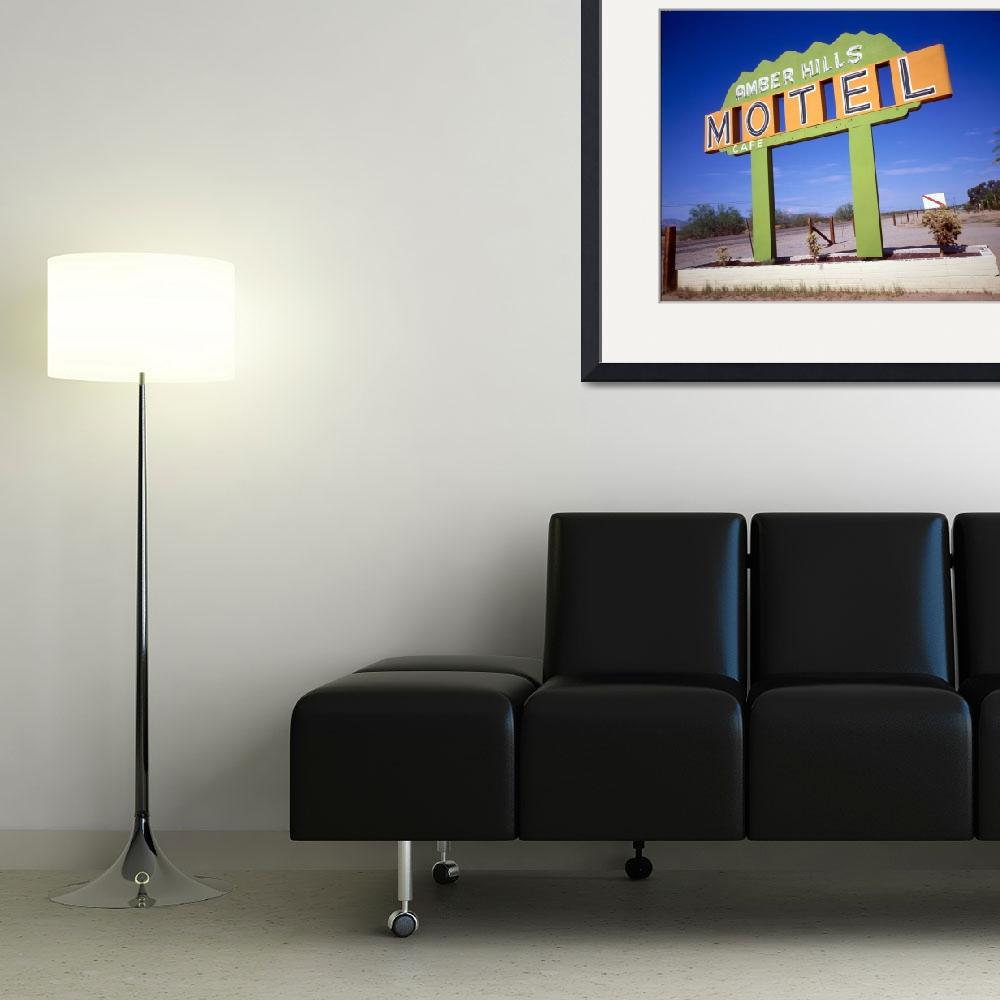 """""""AmberHills.Motel.Sign""""  by silsurf"""