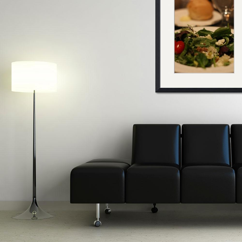 """""""Salad and Dinner Roll&quot  (2011) by frankpas"""