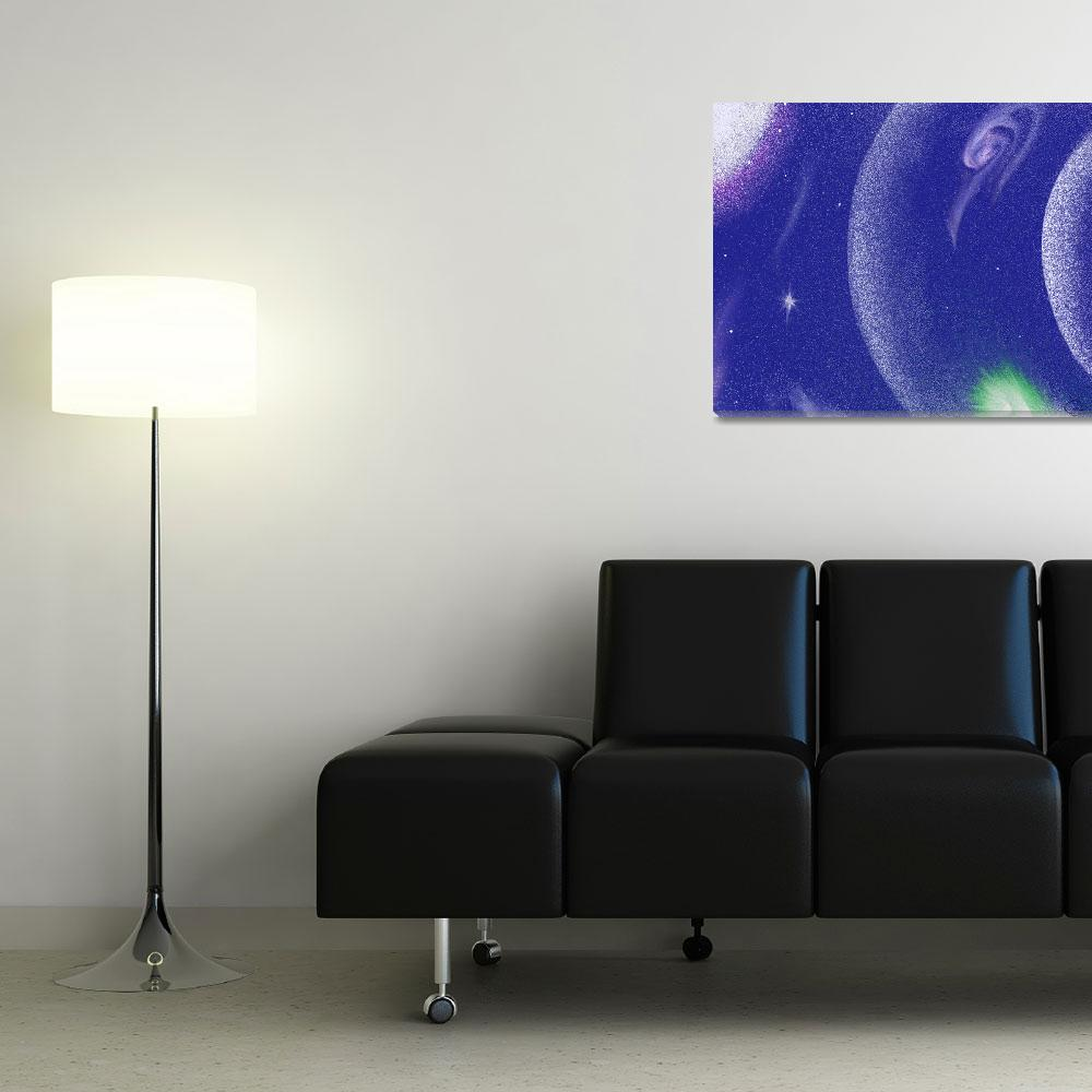 """""""In The Blue 1""""  (2008) by OpheliasKiss"""