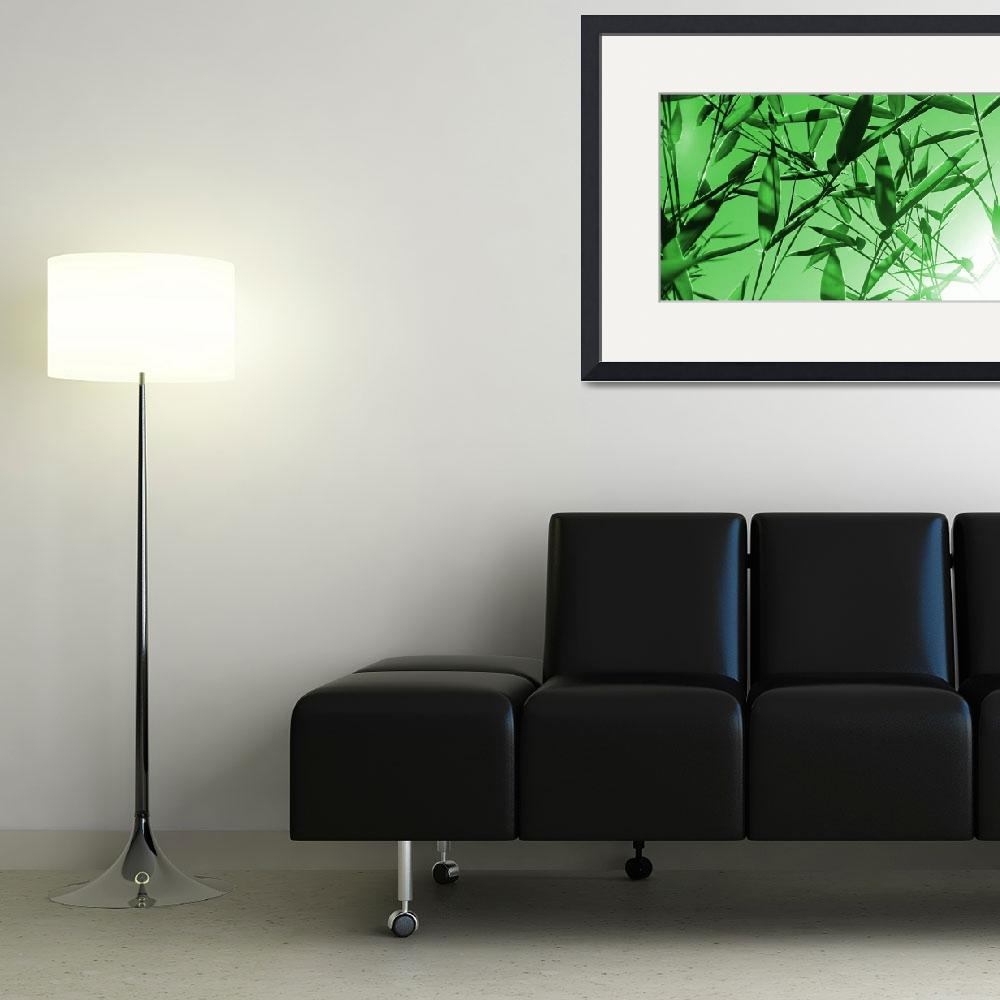 """""""Bamboo&quot  (2012) by AprilO"""