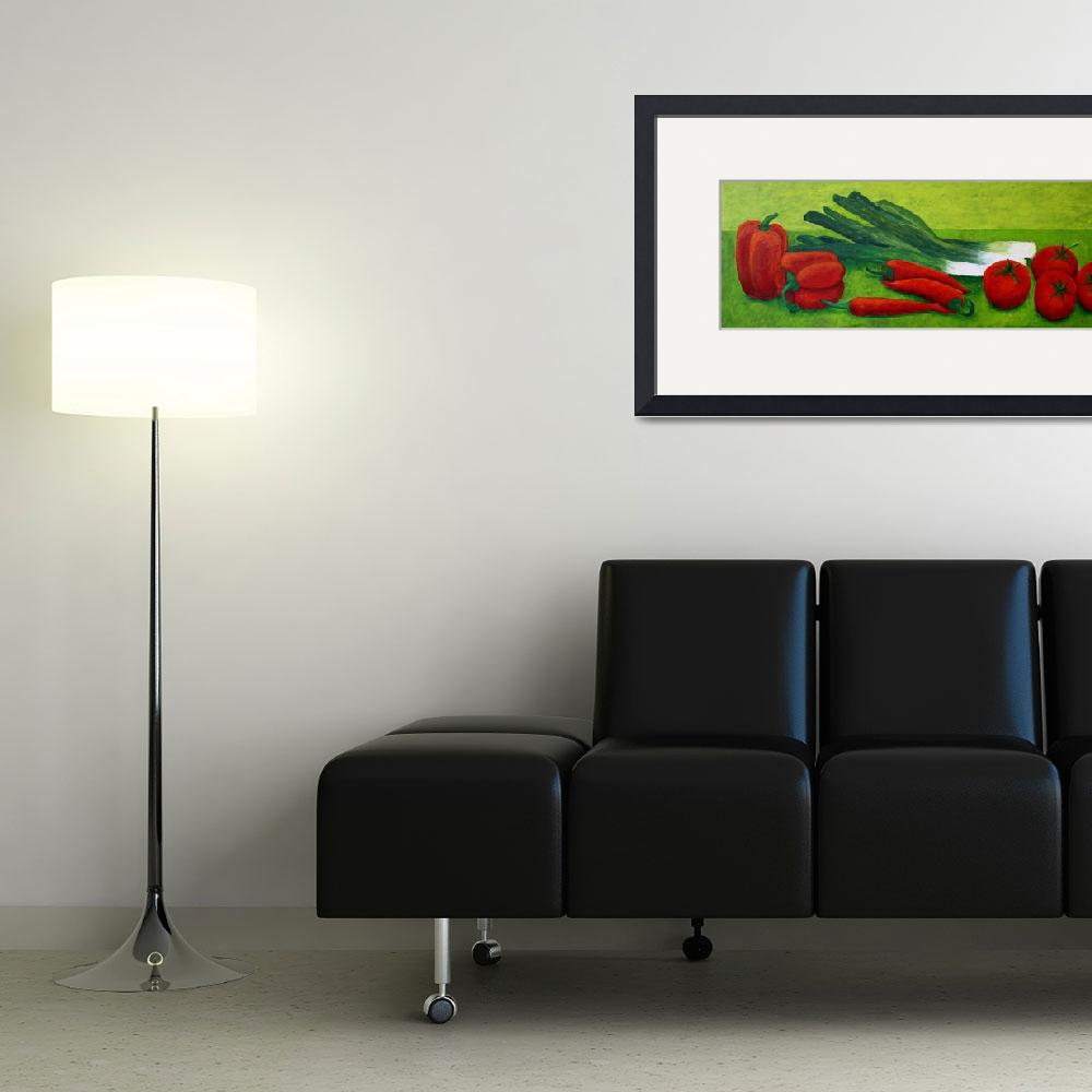 """""""Vegetable""""  (2011) by AndreaMeyer"""