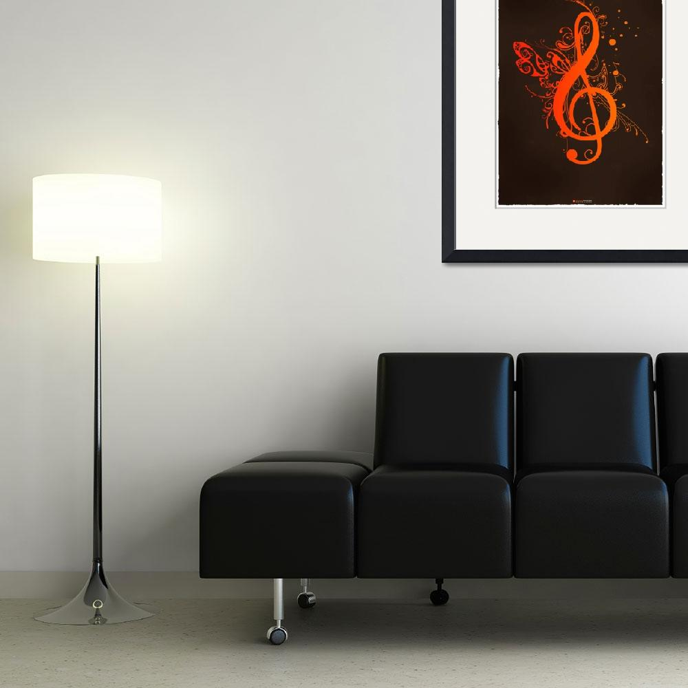 """""""Musical Wings&quot  (2007) by joemaguiredesign"""